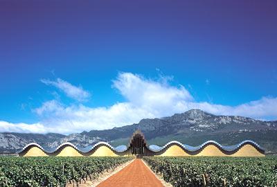 Ysios winery in Rioja