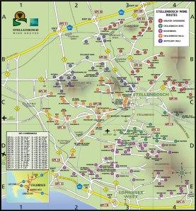 Stellenbosch South Africa Wine Routes