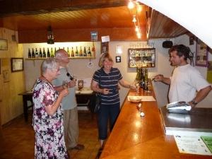 Jacquin wine cellar in Savoie