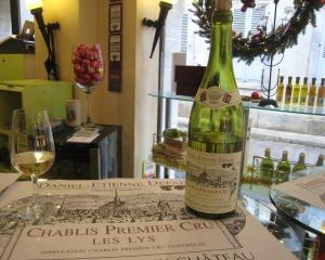 Chablis tasting room