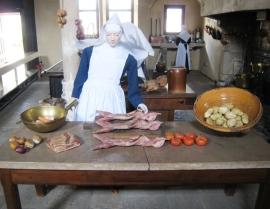 Hospices de Beaune kitchen